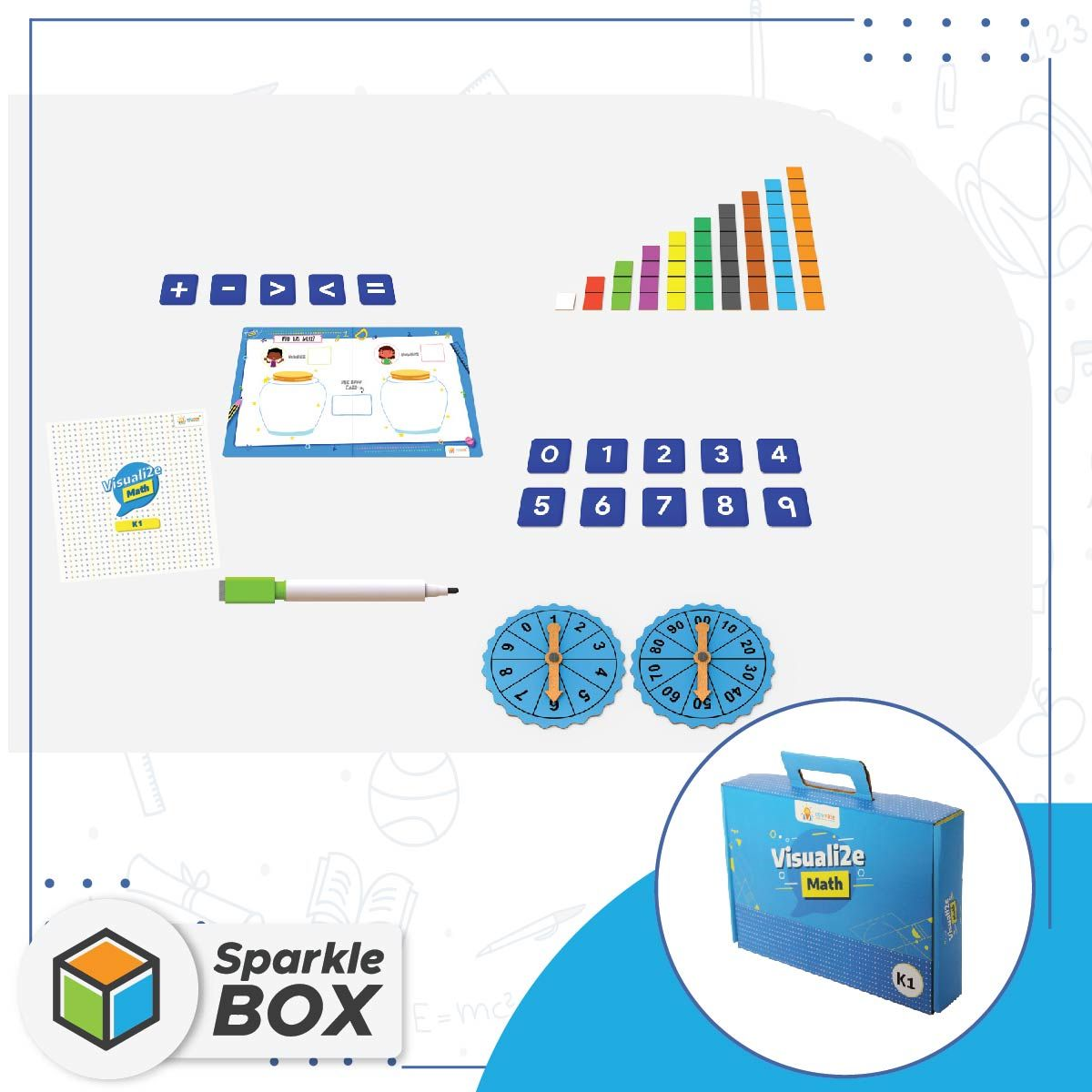 Math Learning Activity Kit For kids