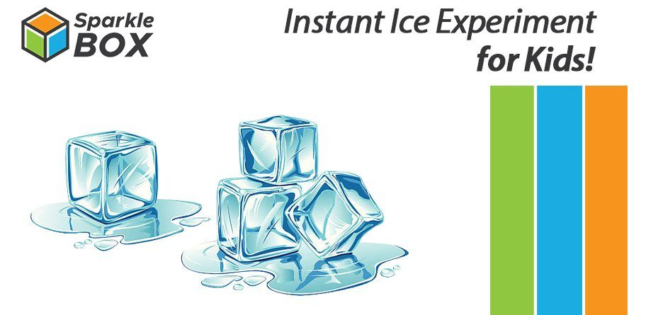 Instant ice experiment for kids at home - Sparklebox