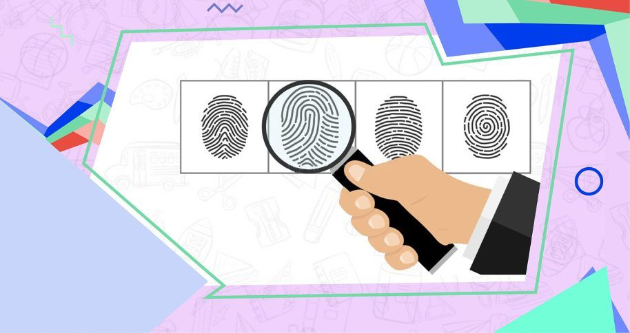 How can a kid be a fingerprint detective?
