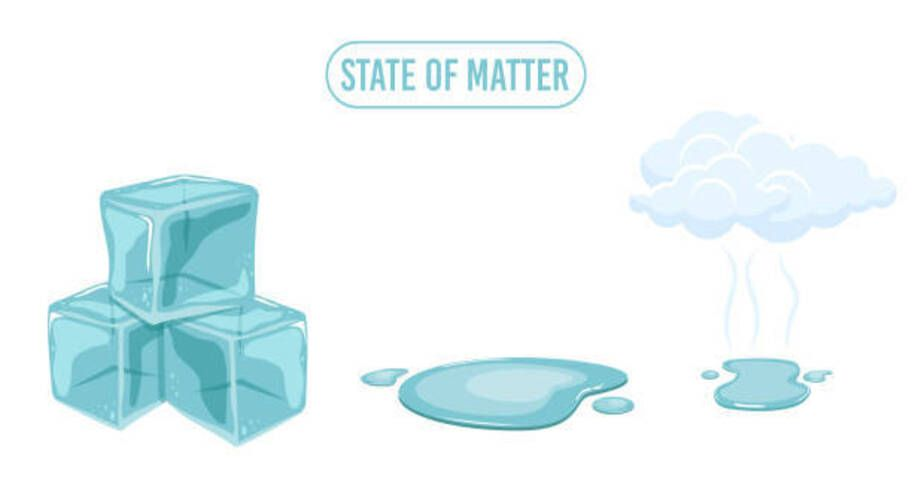 ice experiment for kids - states of matter