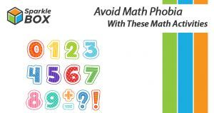 math activities for kids helps avoid math phobia - sparklbox