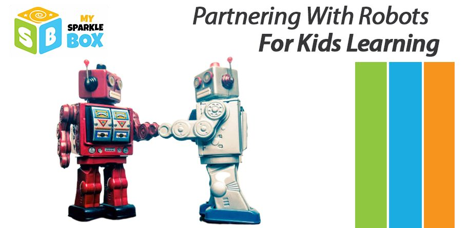play with robot toys for better learning in kids
