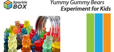 gummy bear osmosis process at home for kids - Sparklebox