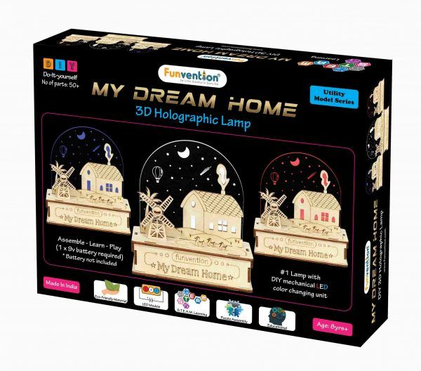 My Dream Home - Holographic Lamp - 1
