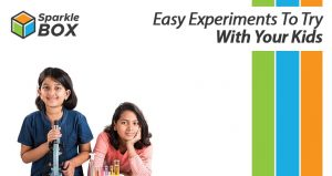 Alt+text- Super easy science experiments for kids