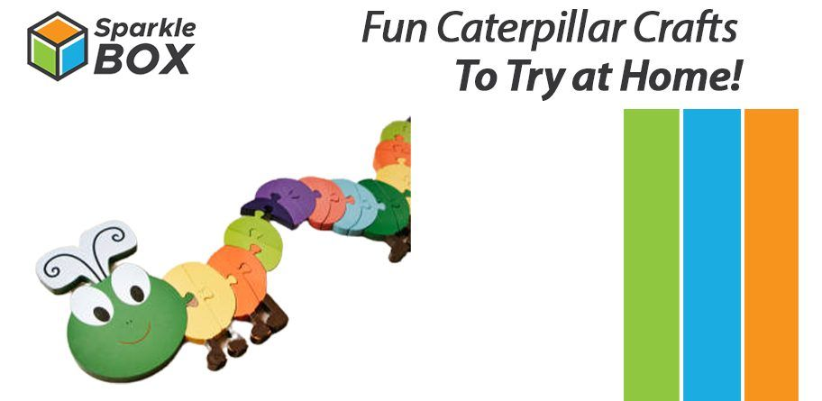 caterpillar crafts to try at home for kids - sparklebox