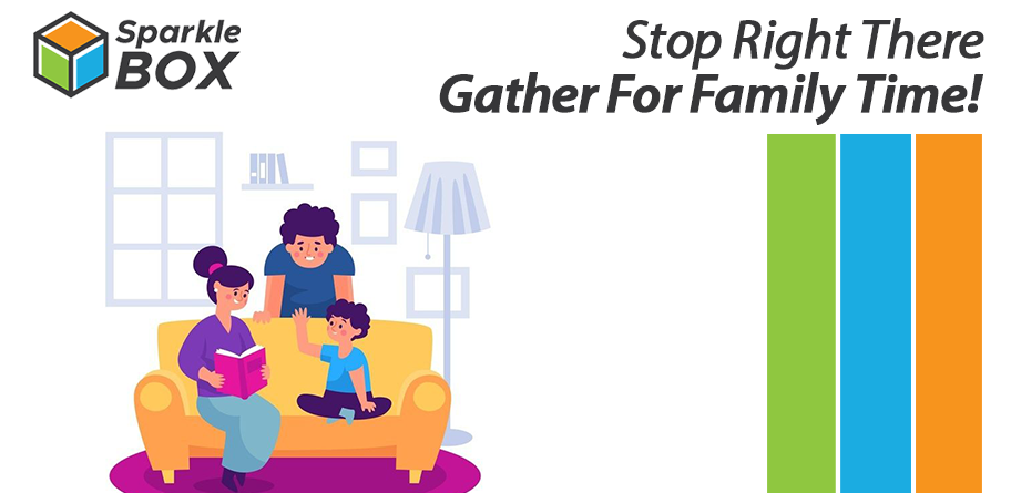 gather for family for activities for kids