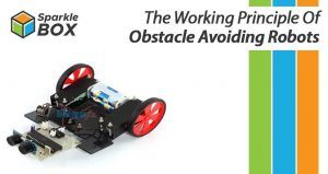 Know the working principle of obstacle avoiding robot
