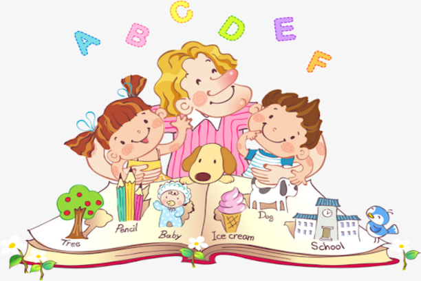 reading story books to kids can help with english speaking practice