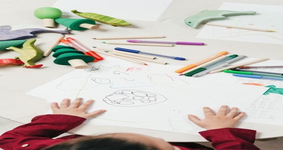 art project ideas suitable for class 1 and 2