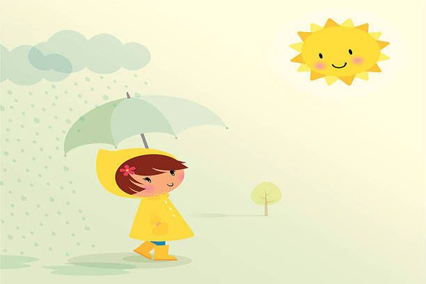 have a conversation on a rainy day with your kid to improve english speaking practice