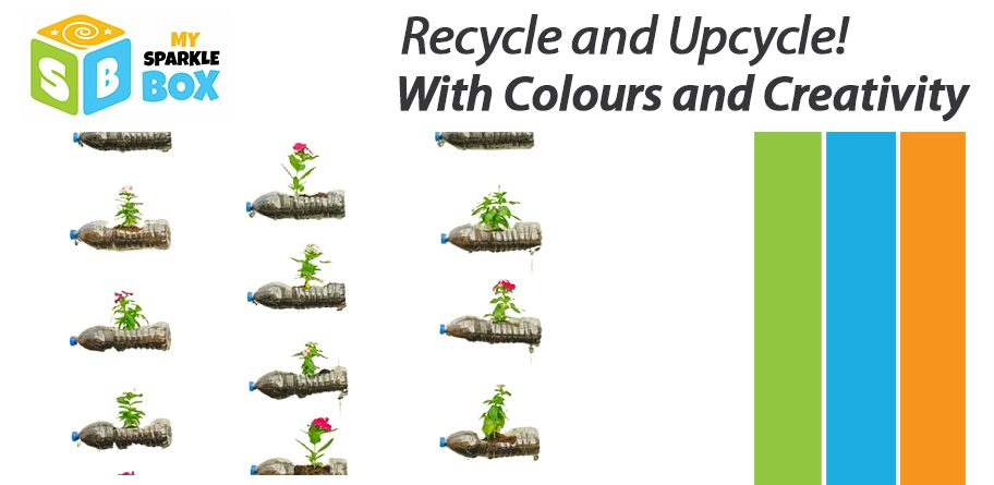 Kids Recycling crafts