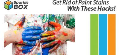 stain remover hacks for paints in clothes at home