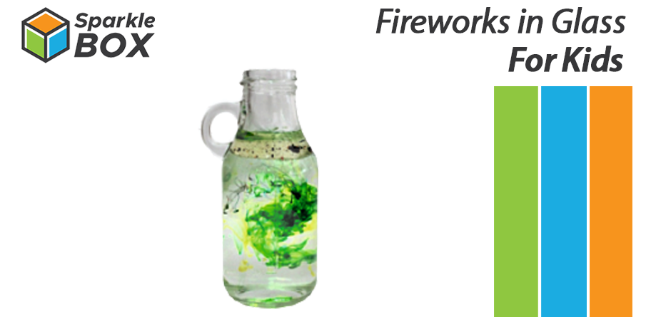 fireworks in glass experiment