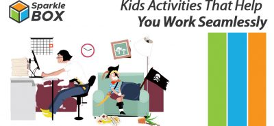 keeping kids busy and entertained while parents work from home