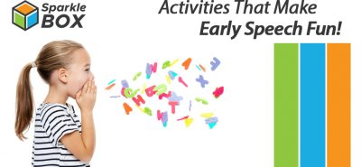 improve and develop your child's early speaking skills with these activities