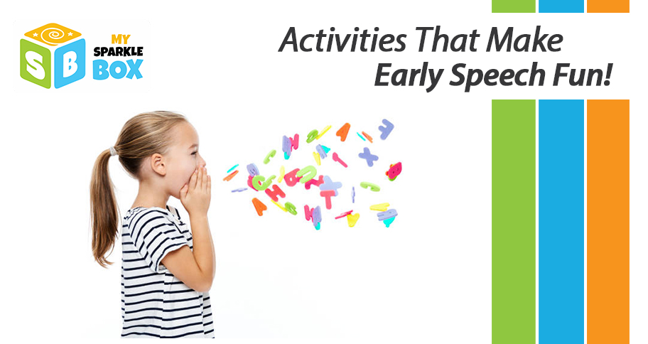 develop early speaking skills in child