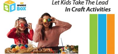 arts and crafts with kids can be fun and engaging