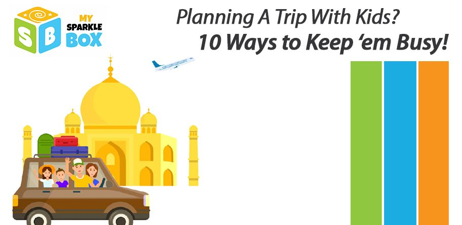 kids activities to keep them busy while travelling