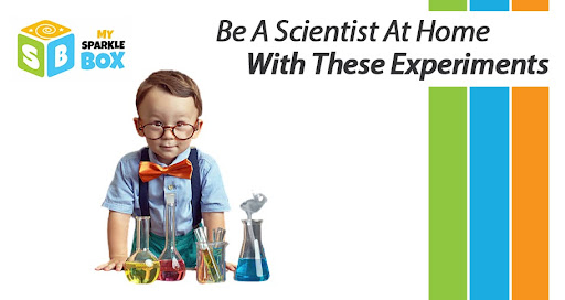 science experiments to do at home for children of all ages