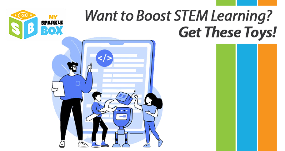 stem learning with educational toys for kids