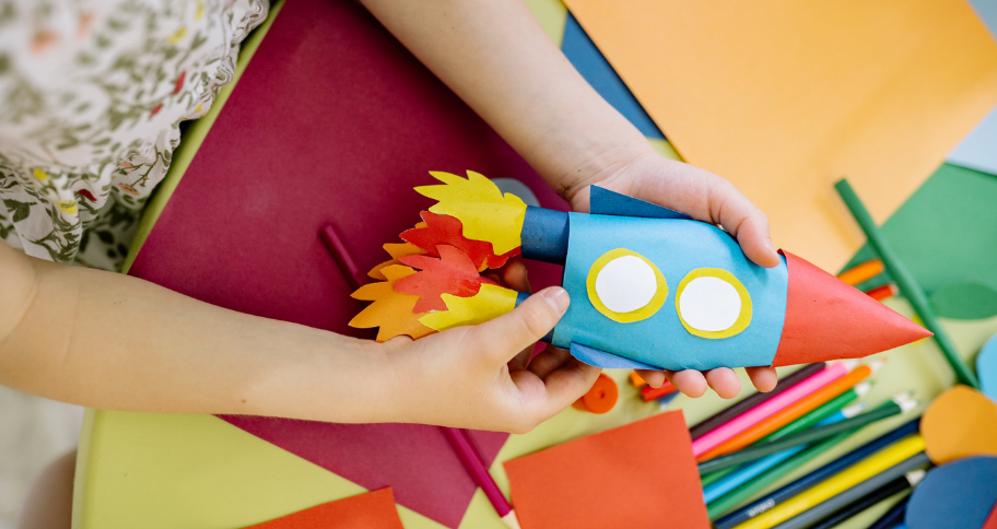 Skills to Learn from DIY Crafts for Kids