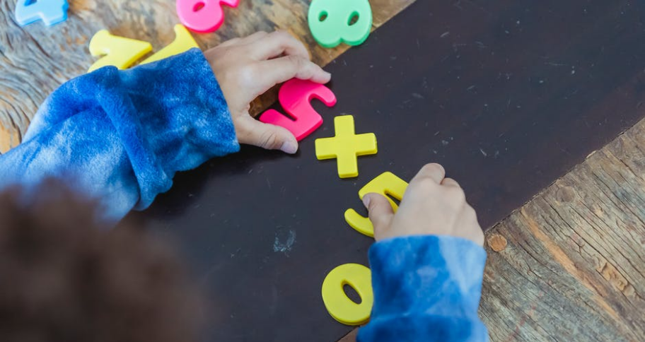 solving Math Puzzles for Kids