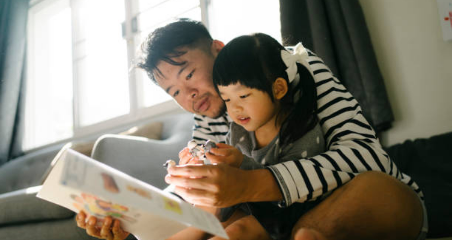 Activities for Kids includes spending time with family