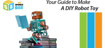 guide to make DIY robot toy for kids